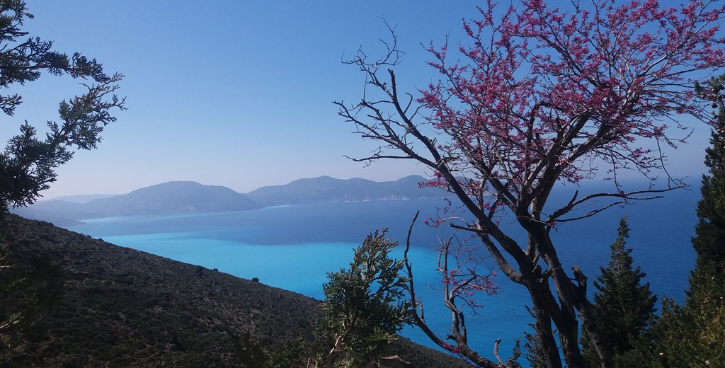 Views from the coast in Kefalonia