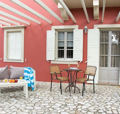 Enjoy your own spaces during your holiday at Magnolia Apartments, Fiscardo, Kefalonia, Greek Islands