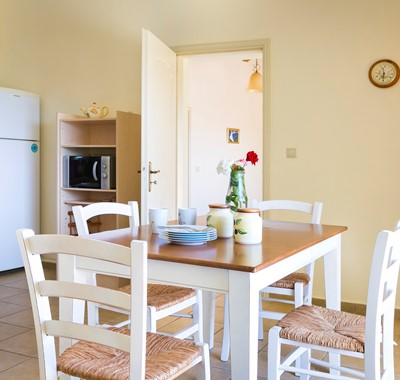Breakfast together every morning of your family holiday to Villa Cypress, Fiscardo, Kefalonia, Greek Islands