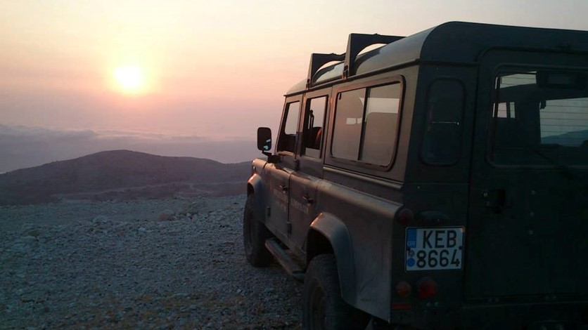 Exploring the Greek island of Kefalonia by Jeep Safari with Outdoor Kefalonia